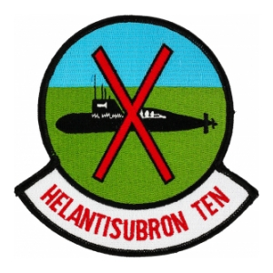 Navy Helicopter Anti-Submarine Squadron 10 Patch