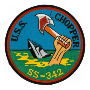 USS Chopper SS-342 Patch