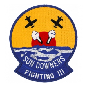 Navy Fighter Squadron VF-111 Sundowners Patch