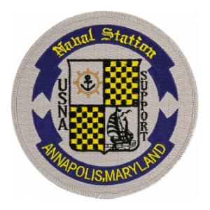 Naval Station Annapolis Maryland Patch