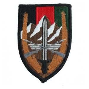Combined Security Transition Command Afghanistan Patch