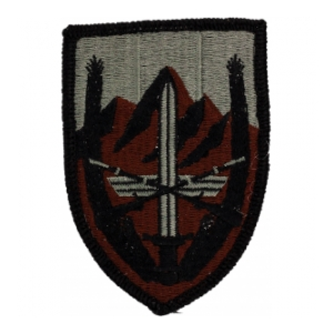 Combined Security Transition Command Afghanistan Patch Foliage Green (VELCRO® brand Backed)