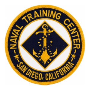 Naval Training Center San Diego, CA Patch
