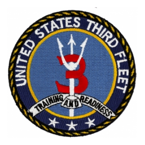 Navy Third Fleet Patch