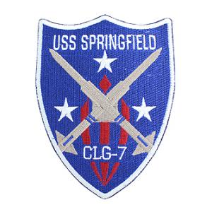 USS Springfield CLG-7 Ship Patch