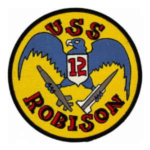USS Robison DDG-12 Ship Patch