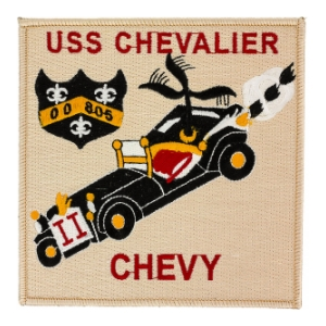 USS Chevalier DD-805 Ship Patch