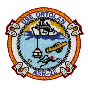 USS Ortolan ASR-22 Ship Patch