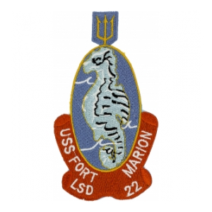 USS Fort Marion LSD-22 Ship Patch