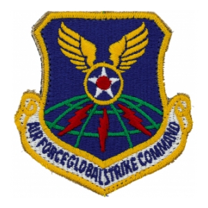 Air Force Global Strike Command Patch(with hook closure)