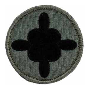 184th Transportation Brigade Patch Foliage Green (Velcro Backed)