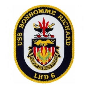 USS Bonhomme Richard LHD-6 Ship Patch