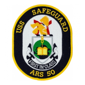 USS Safeguard ARS-50 Patch