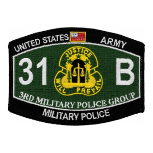 3rd Military Police Group Patch