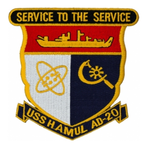 USS Hamul AD-20 Patch