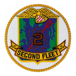 Navy Second Fleet Patch