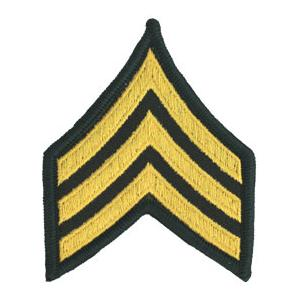 Army Sergeant (Sleeve Chevron) (Female)
