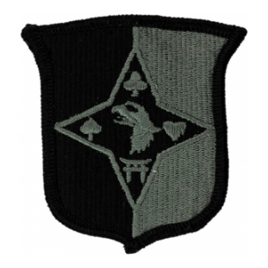 101st Sustainment Brigade (Velcro backed) Patch