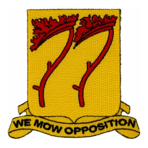 77th Field Artillery Battalion Patch