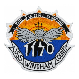 USS Windham County LST-1170 Ship Patch