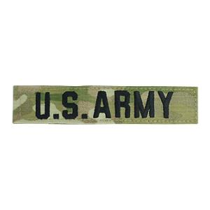U.S. Army Name Tape (Multicam w/ Velcro Backing)