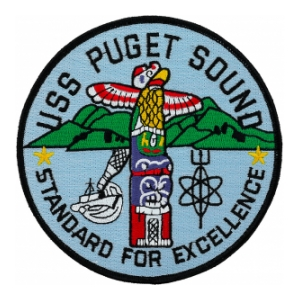 USS Puget Sound AD-38 Patch