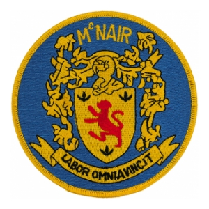 USS McNair DD-679 Ship Patch
