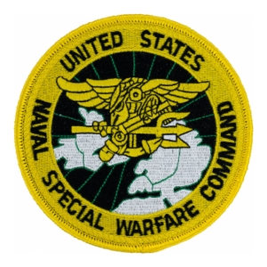 US Naval Special Warfare Command Patch