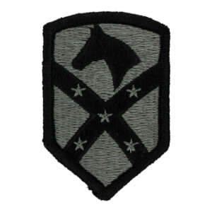 15th Sustainment Brigade Patch Foliage Green (Velcro backed)