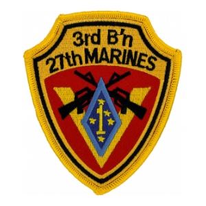 3rd Battalion / 27th Marines Patch