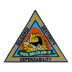 USS Delta AR-9 Patch