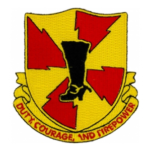 598th Field Artillery Battalion Patch