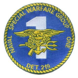 Naval Special Warfare Group 1 Patch