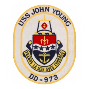 USS John Young DD-973 Ship Patch