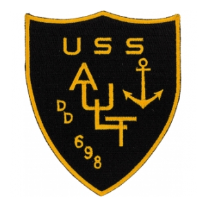 USS Ault DD-698 Ship Patch