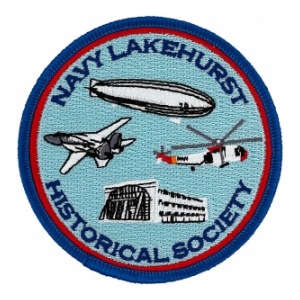 Naval Air Station Lakehurst Historical Society Patch