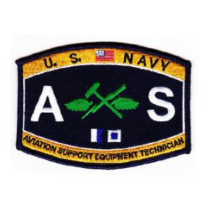 USN RATE AS Aviation Support Equipment Technician patch