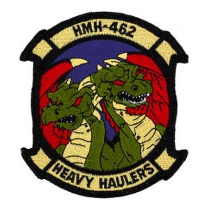 Marine Heavy Helicopter Training Squadron HMH-462 Patch (With Hook Fastener)