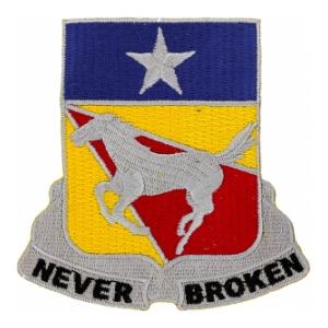 1st Cavalry Regiment Patch Insignia BLACKBIRD