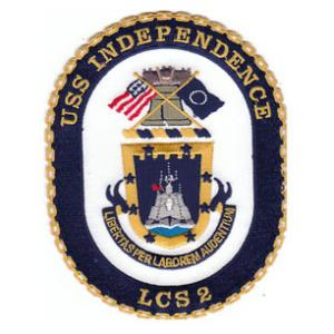 USS Independence LCS-2 Ship Patch