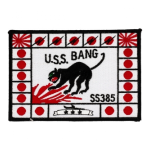 USS Bang SS-385 Patch