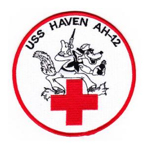 USS Haven AH-12 Ship Patch