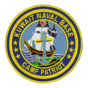 Naval Base Kuwait Camp Patriot Patch