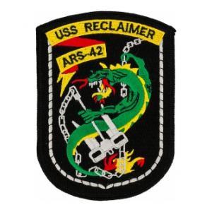 USS Reclaimer ARS-42 Patch