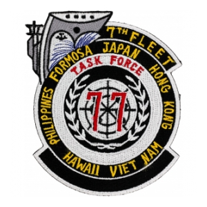 7th Fleet Task Force 77 Patch