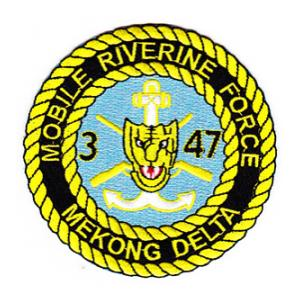Mobile Riverine Force 3-47 Infantry Patch