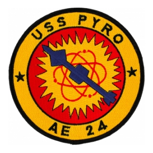 USS Pyro AE-24 Ship Patch