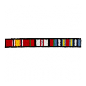 Afghanistan Ribbons patch