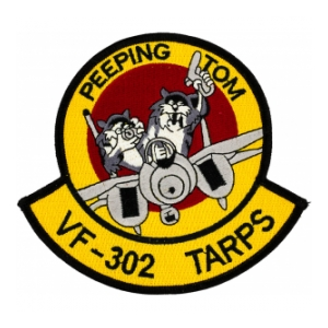 Navy Fighter Squadron VF-302 Patch
