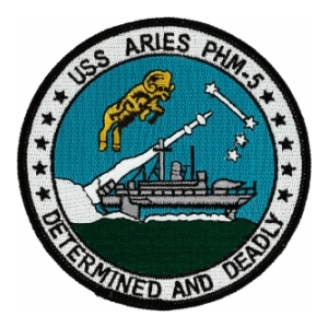 USS Aries PHM-5  Patch